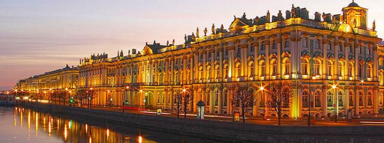 Эрмитаж в городе Санкт-Петербург