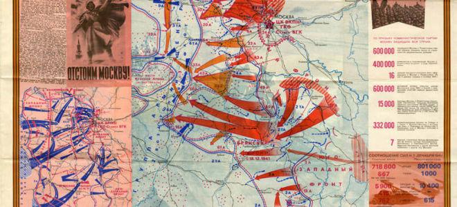 Битва за Москву 1941-1942 годы