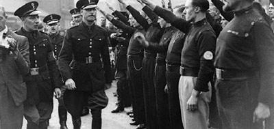фашисты в англии фото