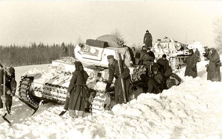 Немецкая техника отказывается работать октябрь-декабрь 1941