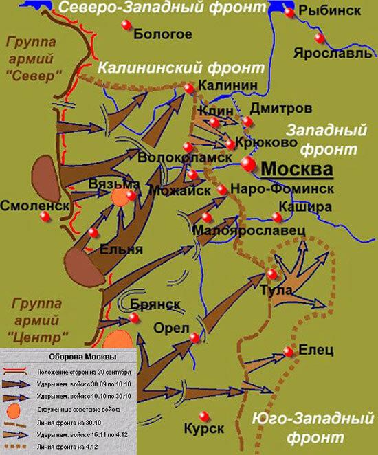 Оборона Москвы 1941