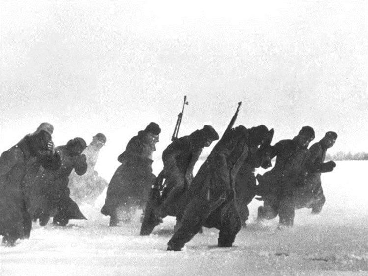 Попытка немецкого наступления начало декабря 1941
