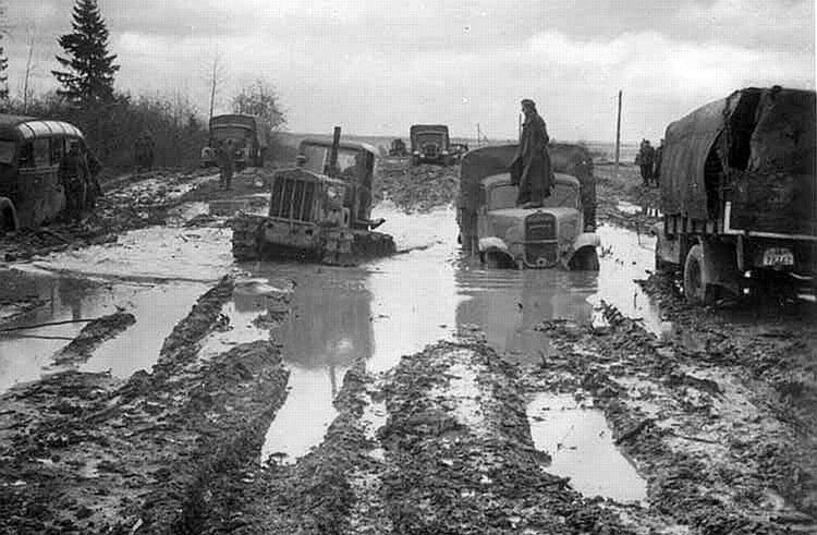 Русский дороги - октябрь 1941