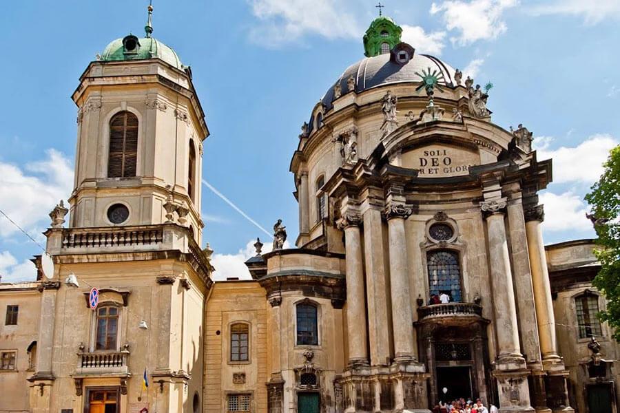 Доминиканский собор - город Львов