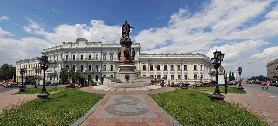 Екатерининская площадь в Одессе