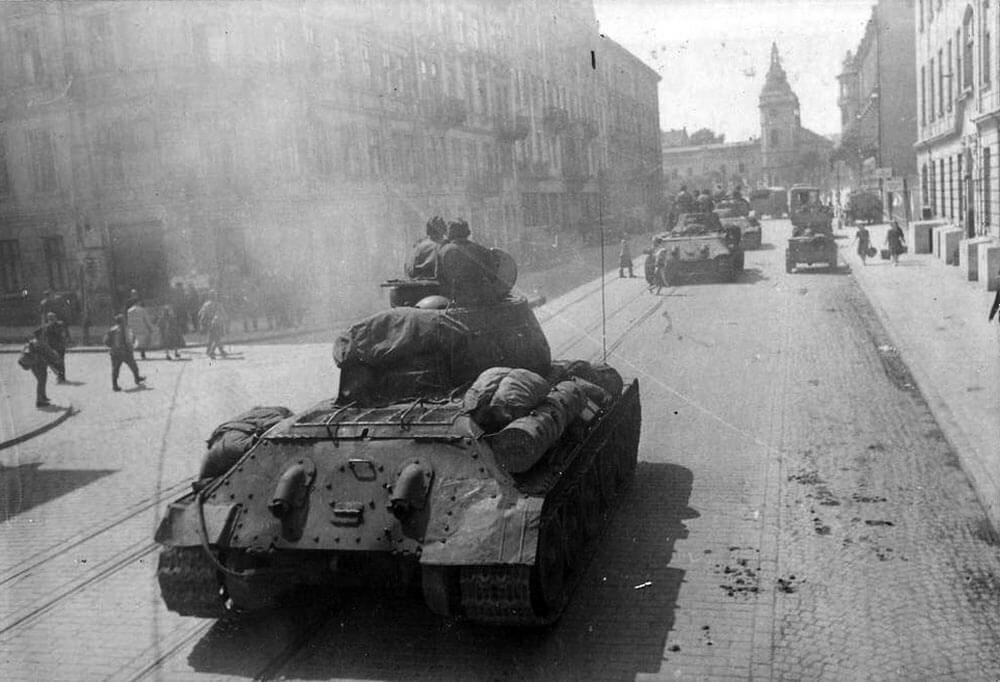 Лето 1944 - город Львов