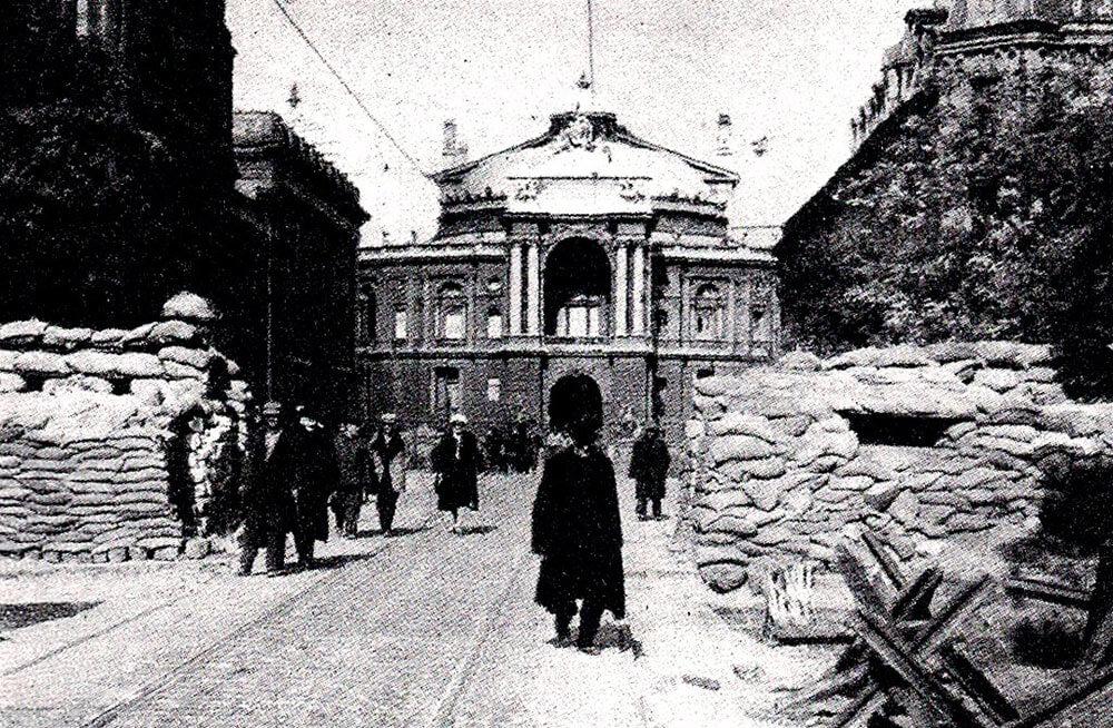 Одесса во время немецкой оккупации