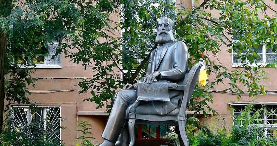 Памятник Маразли в Одессе
