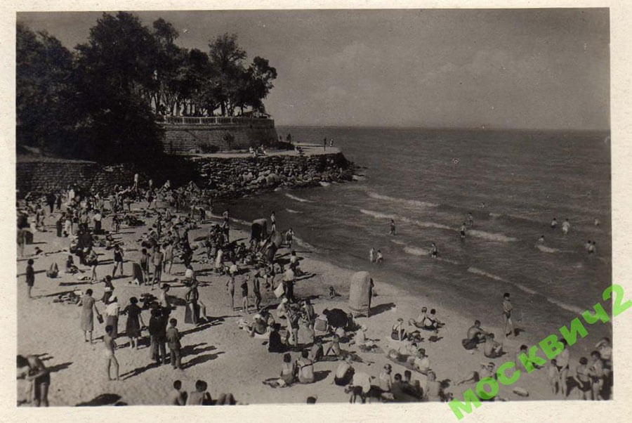 Пляж Одессы 1939 год