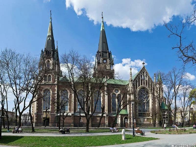 Собор святой Ольги и Елизаветы в городе Львове