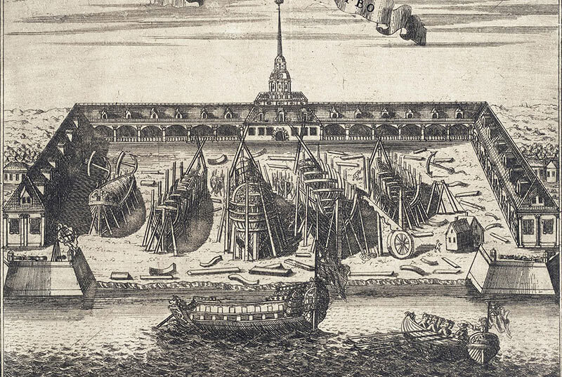Адмиралтейство 1704 год