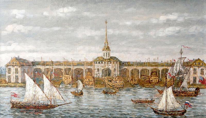 Адмиралтейство 1735 год