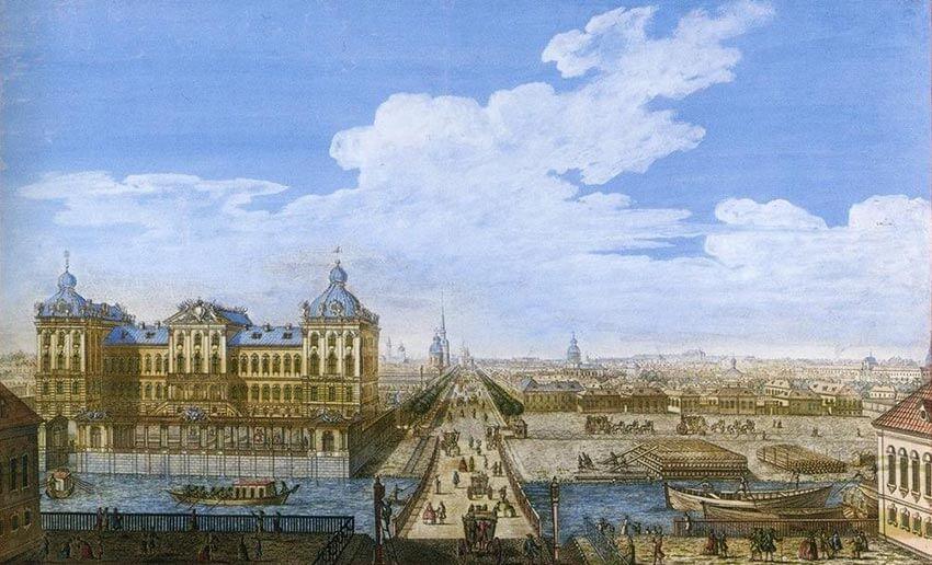 Аничков мост - 18 век