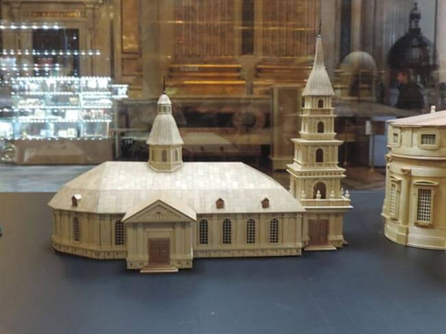Модель второго Исаакиевского собора