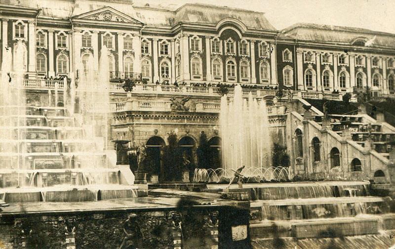Петергоф 19 век - фото