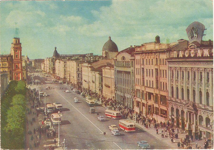 Санкт-Петербург в советский период
