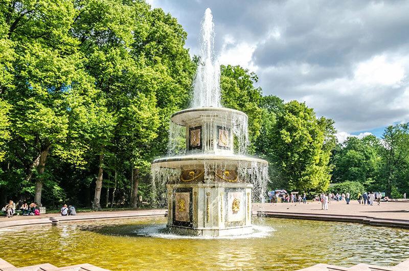 Римские фонтаны Петергофа