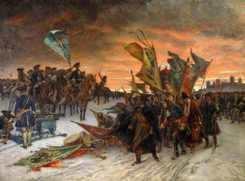 Русско-шведское противостояние