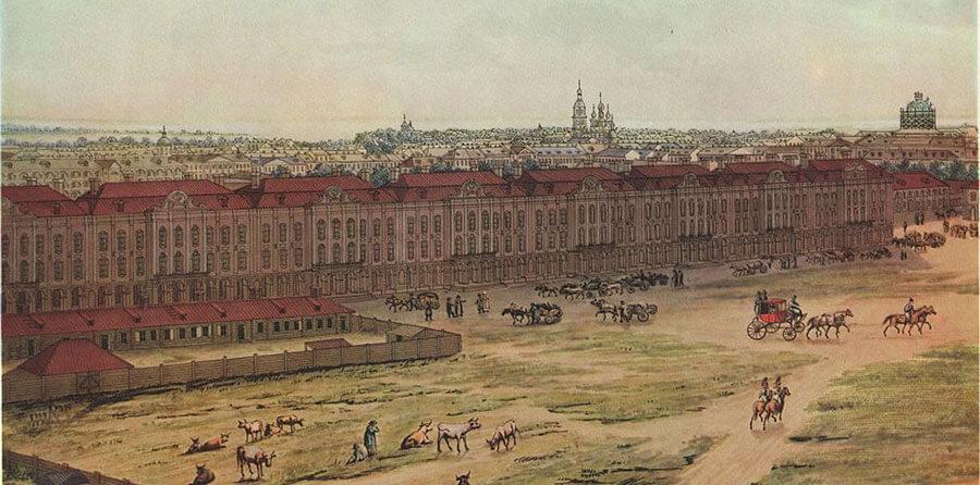Санкт-Петербург 1721 год