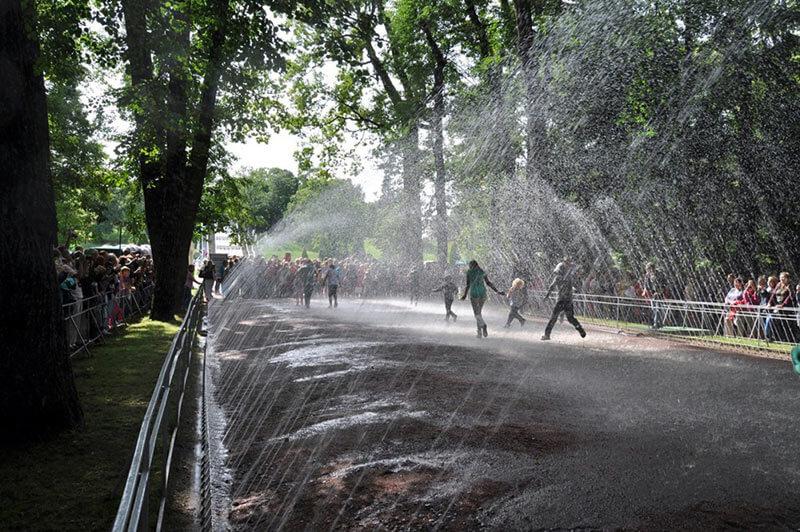 Водяная дорога - Петергоф