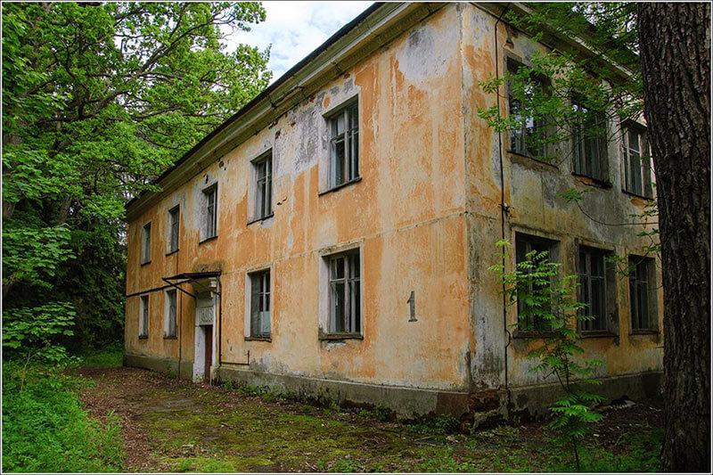 Заброшенный пионерский лагерь «Ласточка»