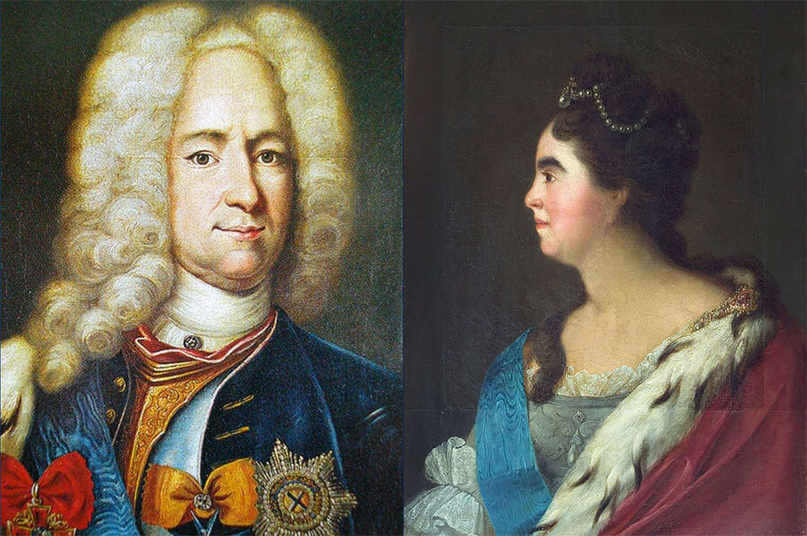 Меншиков и Екатерина I