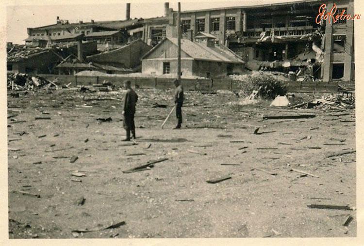 Разрушенный коростенский фарфоровый завод