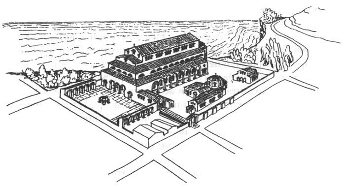 Древний Херсон - рисунок
