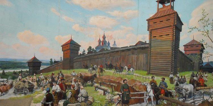 Харьковская крепость 17 век