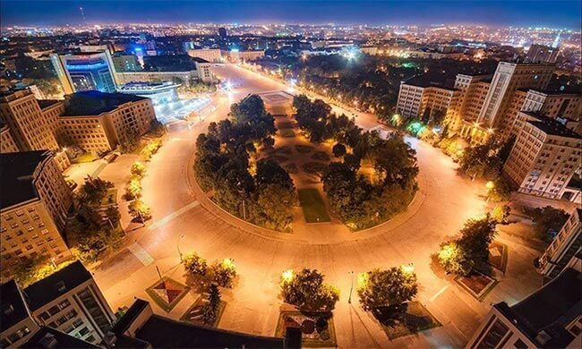 Площадь Свободы - Харьков